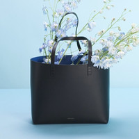 Wholesale new popular Rita Mansur Gavriel genuine leather women bucket bag lady handbag women shoulder bag logo printed