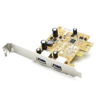 Wholesale 2 Port SuperSpeed USB PCI E PCIE PCI Express usb3 Add On Card No need power supply NEC chipset