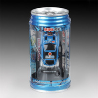 Wholesale Cheap Mini Coke Can RC Radio Remote Control Micro Racing Car Hobby Vehicle Toy Christmas Gift DHL