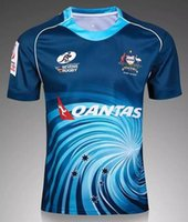 australia jersey - Australia Blue New Season Rugby Shirt NZ Rugby home Shirt camisetas de rugby Thai Quality super jersey