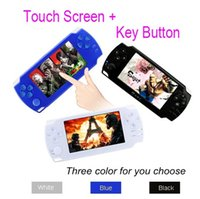 Wholesale Touch Screen Inch Portable Game Console Games Free Handheld Game Players G PSP Support Arcade Games TV