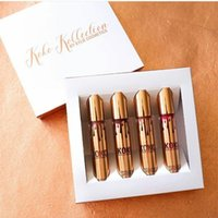Wholesale KOKO KOLLECTION gold birthday limited makeup set KYLIE Liquid matte lipstick lip gloss by kylie cosmetics set waterproof