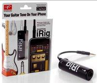 Wholesale iRig IK Multimedia GUITAR midi Interface New guitar tuners iRig Guitar iRig Interface Converter For iPhone iPad iPod LLFA