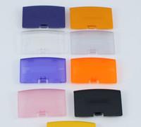 al por mayor cubierta de la batería de nintendo-Cubierta de la tapa de la puerta de la batería Reemplazo para Nintendo Gameboy Advance GBA consola del juego ENVÍO RÁPIDO