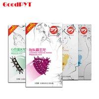 Wholesale Delay Condoms For Men Orgasm Condom G cpot Stimulate Condones Latex Sex Toys Contraception