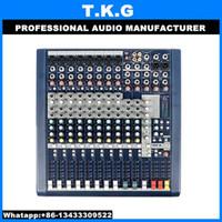 Wholesale High quality digital channel audio mixer mixing console sound mixer dj mixer MFX8 MFX8 mixing console