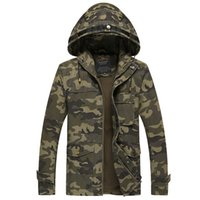 air apparel - HOT Sale Super Dry Camouflage Jackets Hoodie Clothes Hood By Air Men Outerwear Patchwork Winter Parka Coats Men s Clothing Apparel