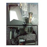 Wholesale 600pcs per Universal V16 turbo kit w w LED headlight fog lamp driving bulbs for auto replace HID car lighting system
