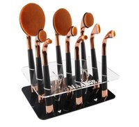 air brush badger - New Arrival Brush Tree Golf Oval Makeup Brush Holder Hanging and Drying By Airing Makeup Brush