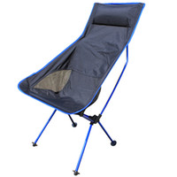 big folding chairs - Outdoor portable folding chairs armchair Recreational fishing Beach chair The picnic big trumpet