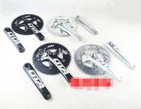 Wholesale OTA AL7075 T single speed fixed gear fixie bike crankset cycling Road track bicycle crank set chain wheel Freeshipping