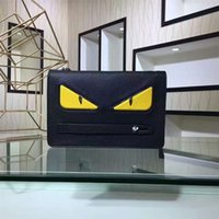 Wholesale HOT SALE Designer Brand Classic Peekaboo Monster Clutch Bags Women Men High Quality Genuine Leather Purses Fashion Lady Luxury Evening Bag