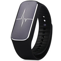 Wholesale Newest degree L18 Bluetooth Smart Bracelet Watch Blood Pressure Heart Rate Fatigue State Tracker for Android iOS Phones
