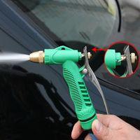accessories garden car - Home Car Wash Water Gun Adjustable Water Pressure Durable Copper Gun Head Washer Cleaning Tool Household Garden Auto Accessories