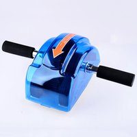Wholesale AB Roller Fitness Equipment for Home Abdominal Exerciser Machine ABS Steering wheel Tool for Core Trainers Gym Weight Loss