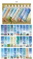 Wholesale 30 Chinese classic retro style wind bookmark DIY illustration lovely cartoon exquisite gift hard paper bookmark