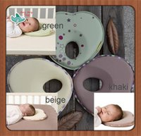 baby flat head - Baby Pillow Infant Sleep Shape Toddler Positioner Anti Roll Cushion Flat Bebe Head Pillow Protection of Children Almohadas