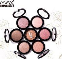 beauty max - MAX Dona Eyeshadow Single EyeShadow Pressed Powder Durable Waterproof eyeshadow Makeup eyeshadow VS HUDA Beauty Eyeshadow Palette