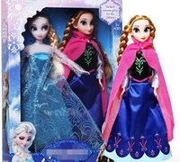 Wholesale Hot Sell Frozen Dolls Elsa And Anna Princess Girl Gifts Frozen Toys Doll Joint Moveable