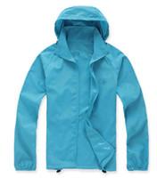 Wholesale Men Quick Fast Dry Hiking Jackets Windproof Sun UV Protection Outdoor Sport Rain Coats