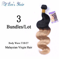 best black hair dyes - hot selling Ombre Brazilian Hair Body Wvae T1B Natural Black Brazilian Virgin Hair Best Brazilian Virgin Hair Bundles Body Wave