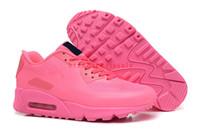 2017 al por mayor de la mejor calidad de las mujeres clásico 90 zapatillas de deporte de tobillo baja zapatillas de deporte clásico descalzo zapatos deportivos al aire libre Boot Juventud