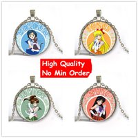 South American best friends picture - 2016 New Sailor Moon Picture Necklace MM Glass Necklace Sailor Moon Glass Pendant Cosplay Cabochon Necklace Best Friend Gift NS052