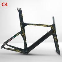 Precio de Marcos de carreras-El nuevo modelo Concept T1000 Toary Carbon Bike Frame Fork Seat Post Headset Racing Bicicleta Marcos Frameset XXS / XS / S / M / L / XL