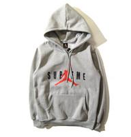 Wholesale Basketball Hip Hop Velvet Hooded Sweater Hooded Winter Coat Couple
