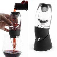 Wholesale Hot Magic Wine Decanter Red Wine Aerator Filter Wine Essential Equipment gift with bag hopper filter and gift box