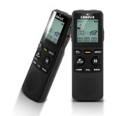 Wholesale 8GB Digital Voice Recorder MP3 Player with LCD Digital Display and Dual Power Supply System Portable Rechargeable Recoder