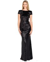 good evening - Quality good gold sequined dress new style mermaid PROM dress floor length bridesmaid dresses evening