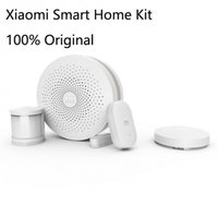 Wholesale Original Xiaomi Smart Home Suite Gateway Alarm Door Window Sensor Human Body Sensor Wireless Switch Smart Home Kit Sets