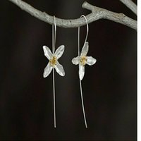 asian face products - Free mail products Combination of Chiang mai Thailand the handmade flowers beautiful girl earrings ears line