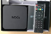 Wholesale USA UK Stock Online Update MXQ MXG MXS TV BOX Amlogic S805 Quad Core Android Airplay Programs Media Player