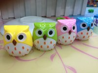 Wholesale high quality new fashion cute Kawaii Owl Pencil Sharpener Cutter Knife Promotional kids school office useful Stationery