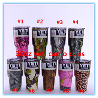 Wholesale factory yeti camo oz Mugs Cooler YETI Rambler Tumbler Travel Vehicle Beer cup Double Wall Bilayer Vacuum Insulated Colors OTH242