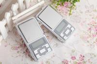 Wholesale 2017 NEW g x g Mini Electronic Digital Jewelry Scale Balance Pocket Gram LCD Display DHL Free