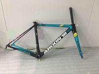Wholesale argon Tour De France team bike frameset newest and hot sell Argon18 Gallium Pro carbon road bike frame fork seat post clamp headset