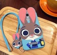 achat en gros de xiaomi lapin-Judy lapin boîtier de couverture de téléphone en silicone pour XIAOMI REDMI NOTE 2 NOTE 3 NOTE 2A 3S 4S