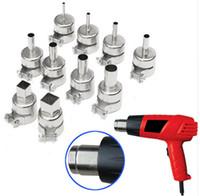 Wholesale 2016 New set Heat Gun Nozzles Heat Air Gun Solder Kit For Hot Air Soldering Station