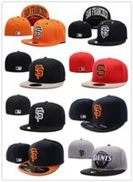 Wholesale 2017 HOT SALE New Arrival Men s full Closed San Francisco Giants fitted hat sport team SF champions baseball cap