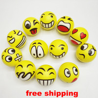Cheap Big Kids Emoji Faces Sponge Ball Best Multicolor PU ball