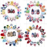 air walkers shoes - 80 colors new arrivals soft sole kids Girl cotton baby first walkers little girl boy shoes kids elegant animals batman designs shoes