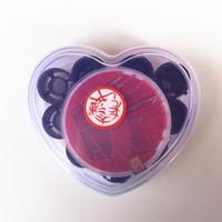 al por mayor coser tiendas-Una caja de costura en forma de corazón Kit de costura Artículos de coser de bricolaje Paquete de dos puntos tienda