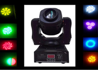 Wholesale dj led gobo spot w colors differnt stage light led spot gobos moving head light dmx channels ktv wedding