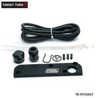 audi pcv - TANSKY Billet PCV Delete Plate Kit Revamp Adapter for Volkswagen VW Audi SEAT Skoda EA113 Engines TK PCV1017