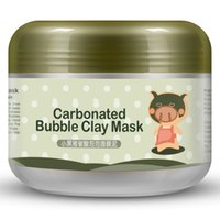 Wholesale Carbonated Bubble Clay Mask Moisturising Maks Facial Mask Face Mud Mask Whitening Anti Aging Oil Control g BIOAQUA