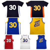 Wholesale Stephen curry Jersey Stitched Red white Davidson jersey embroidery shirt High quality