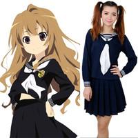 aisaka taiga cosplay - USA Size XXXL Toradora Aisaka Taiga Cosplay Costume Anime School Uniform for Girls